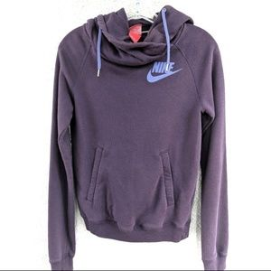 Nike Funnel Neck Hooded Sweatshirt Size XS